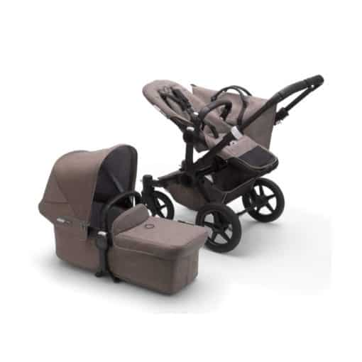 Bugaboo Donkey 3 Mono Mineral Collection Complete Pushchair-Black/Taupe