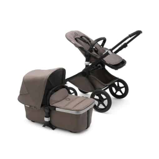 Bugaboo Fox2 Mineral Complete Pushchair-Black/Taupe