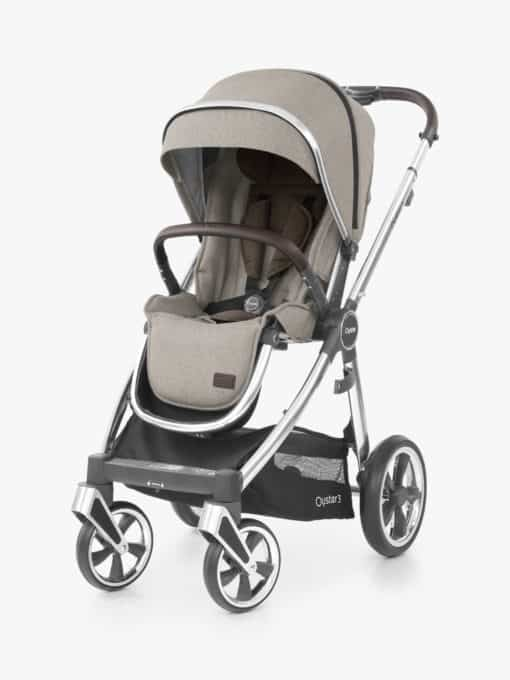 Oyster3 Pushchair, Mirror/Pebble