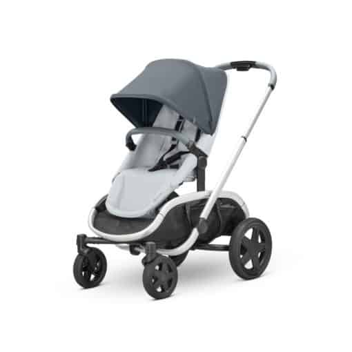 Quinny Hubb Graphite Frame Shopping Stroller-Graphite/Grey