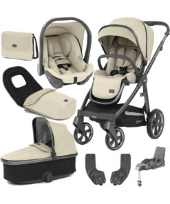 BabyStyle Oyster 3 City Grey Special Edition Essential Capsule Travel System-Vanilla