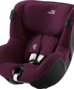 Britax DUALFIX iSENSE Group 0+/1 Car Seat-Burgundy Red (NEW 2021)
