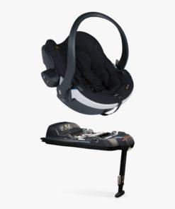 BeSafe iZi Go Modular X1 i-Size Group 0+ Baby Car Seat and Modular Base, Black Cab