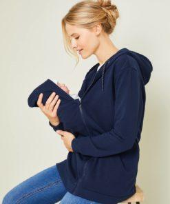 Adaptable Jacket, Maternity & Post-Maternity dark blue