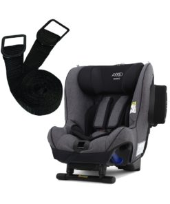 Axkid Minikid 2.0 Car Seat-Premium Granite Melange + FREE Tether Straps Worth £20!