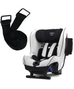 Axkid Minikid 2.0 Car Seat-Premium Sky Grey + FREE Tether Straps Worth £20!