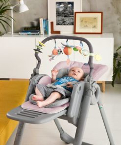 Chicco Polly Magic Relax Highchair, Pink