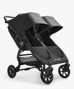 Baby Jogger City Mini GT2 Double Pushchair, Opulent Black