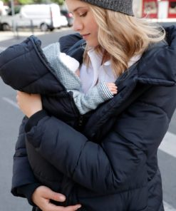 Adaptable Padded Coat, Maternity & Post-Maternity black